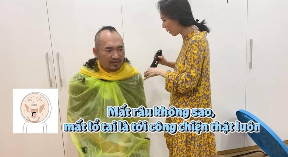 Sao Việt cắt tóc cho chồng mùa dịch: Những cái kết hú hồn-2