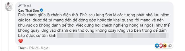 Loạt sao Việt bị chỉ trích vì tạo dáng phản cảm chốn linh thiêng-3