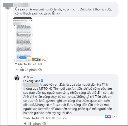 Công Vinh bức xúc cáo buộc cướp công người dân Hà Tĩnh-5