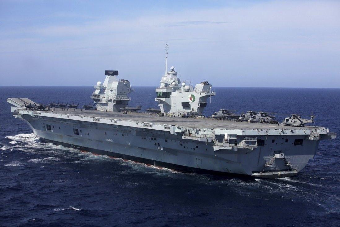 Tác động từ việc Anh triển khai tàu chiến tới châu Á-Thái Bình Dương