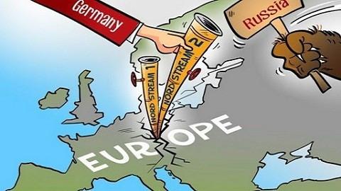 Dòng chảy phương Bắc bị cho 'lên bờ xuống ruộng', Tổng thống Nga Putin phải lên tiếng. (Nguồn: Politico)