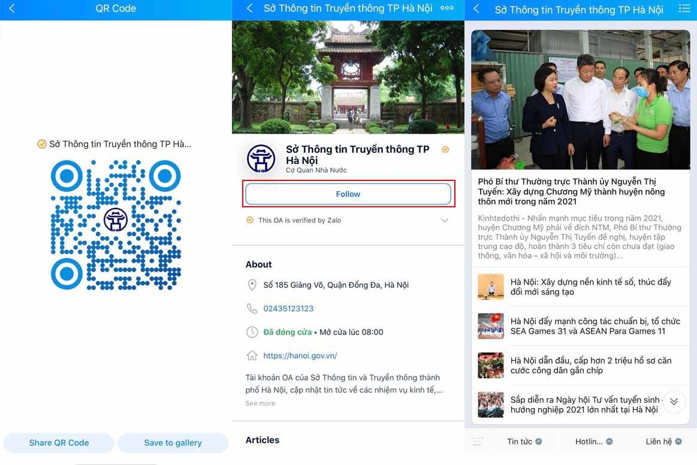 Hà Nội tiếp nhận phản ánh về sai phạm trong phòng chống Covid-19 qua hotline, tài khoản Zalo