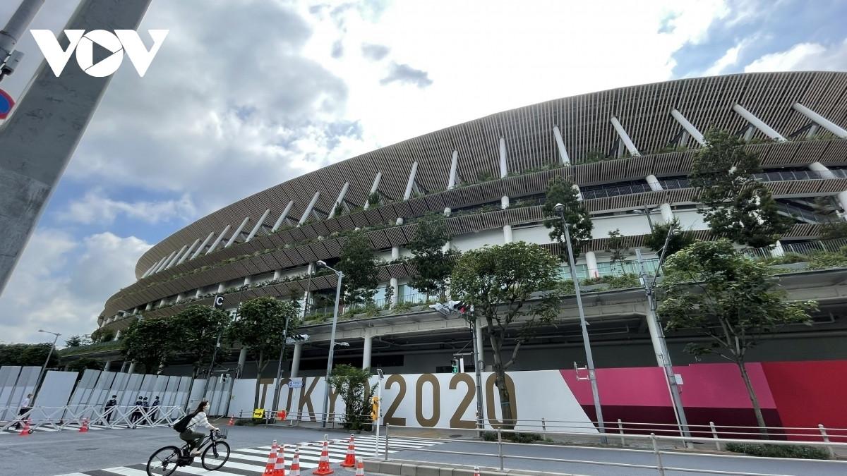 Olympic Tokyo 2020 sẽ chính thức khai mạc vào lúc 18h00 ngày hôm nay (23/7/2021) theo giờ Việt Nam. (Ảnh: Bùi Hùng).