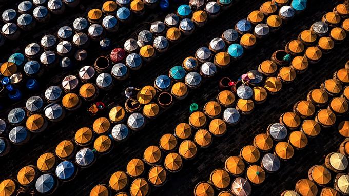 Ngắm bộ ảnh 'Việt Nam nhìn từ trên cao' đạt bằng Danh dự cuộc thi ảnh thường niên FIAP - 1