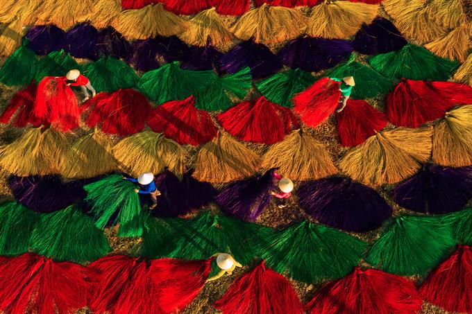 Ngắm bộ ảnh 'Việt Nam nhìn từ trên cao' đạt bằng Danh dự cuộc thi ảnh thường niên FIAP - 2