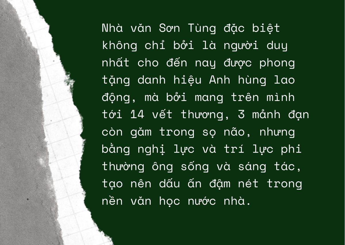Nhà văn Sơn Tùng - Ông đi rồi, chiếu văn ấy giờ đây ai ngồi… ảnh 6