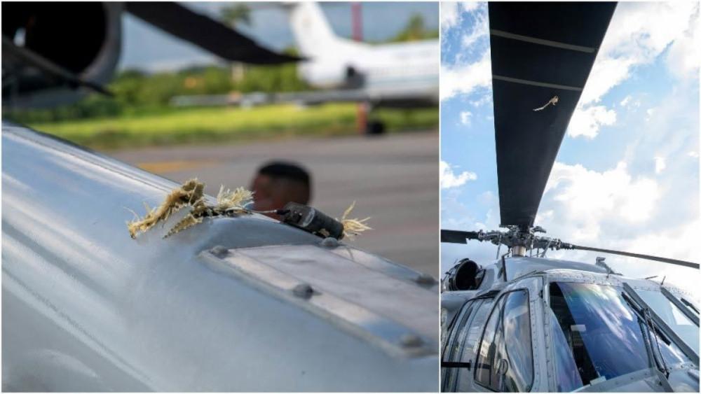 Colombia bắt giữ 10 tay súng tấn công trực thăng của Tổng thống