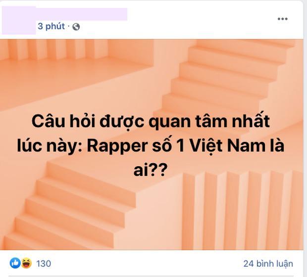 Cộng đồng mạng truy tìm Ai là rapper số 1 Việt Nam?-4
