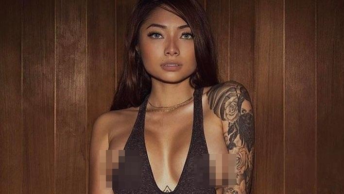 Cassie Trinh Võ - bồ cũ Binz thích phơi ngực trần, Ngân 98 thua xa-8