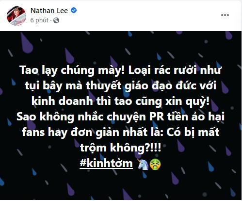 Nathan Lee kinh tởm kẻ thuyết giáo kinh doanh, đó là ai?-1