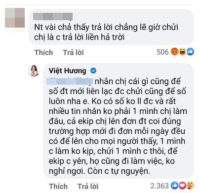 Làm từ thiện, Việt Hương bị xỉa xói phải chửi mới trả lời-4