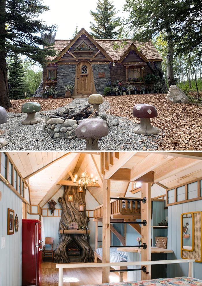Mê mẩn những căn nhà gỗ nhỏ xinh ẩn mình giữa thiên nhiên - 3
