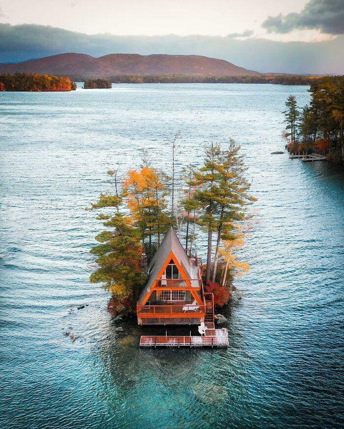 Mê mẩn những căn nhà gỗ nhỏ xinh ẩn mình giữa thiên nhiên - 8