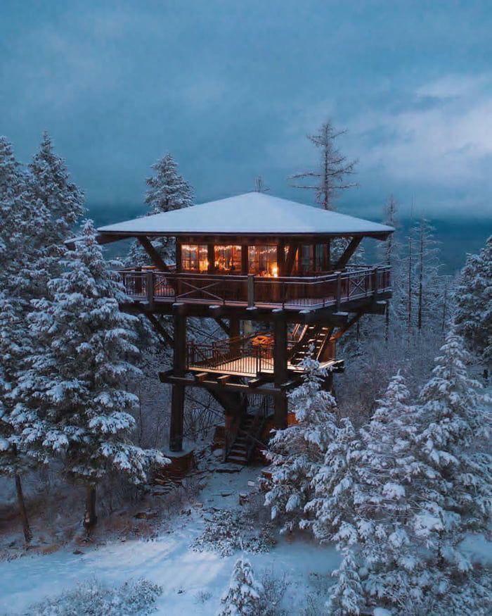 Mê mẩn những căn nhà gỗ nhỏ xinh ẩn mình giữa thiên nhiên - 10