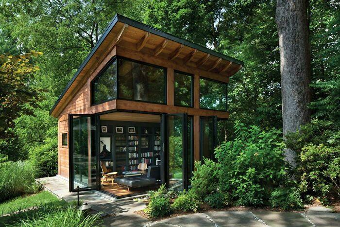 Mê mẩn những căn nhà gỗ nhỏ xinh ẩn mình giữa thiên nhiên - 11