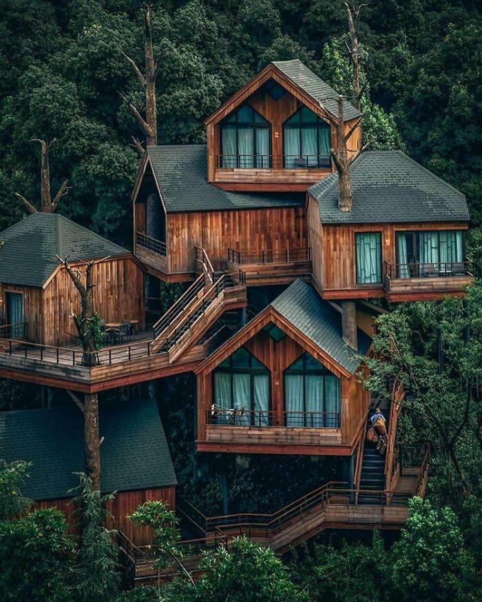 Mê mẩn những căn nhà gỗ nhỏ xinh ẩn mình giữa thiên nhiên - 12