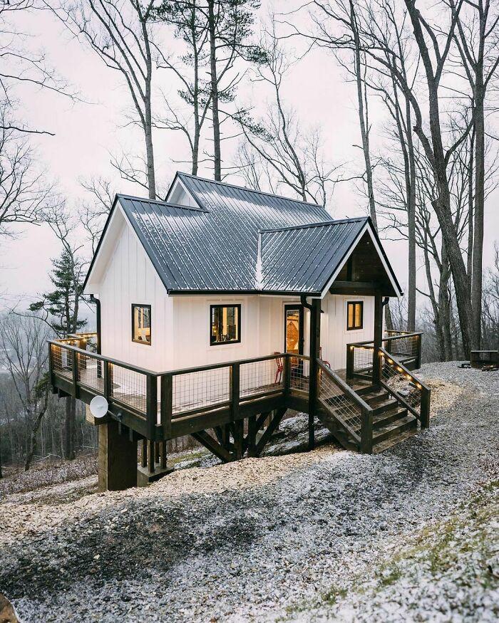 Mê mẩn những căn nhà gỗ nhỏ xinh ẩn mình giữa thiên nhiên - 16