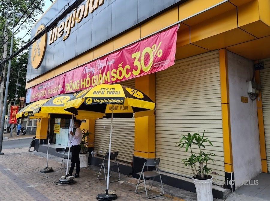 Thế Giới Di Động, FPT Shop mất bao nhiêu doanh thu khi Hà Nội giãn cách?