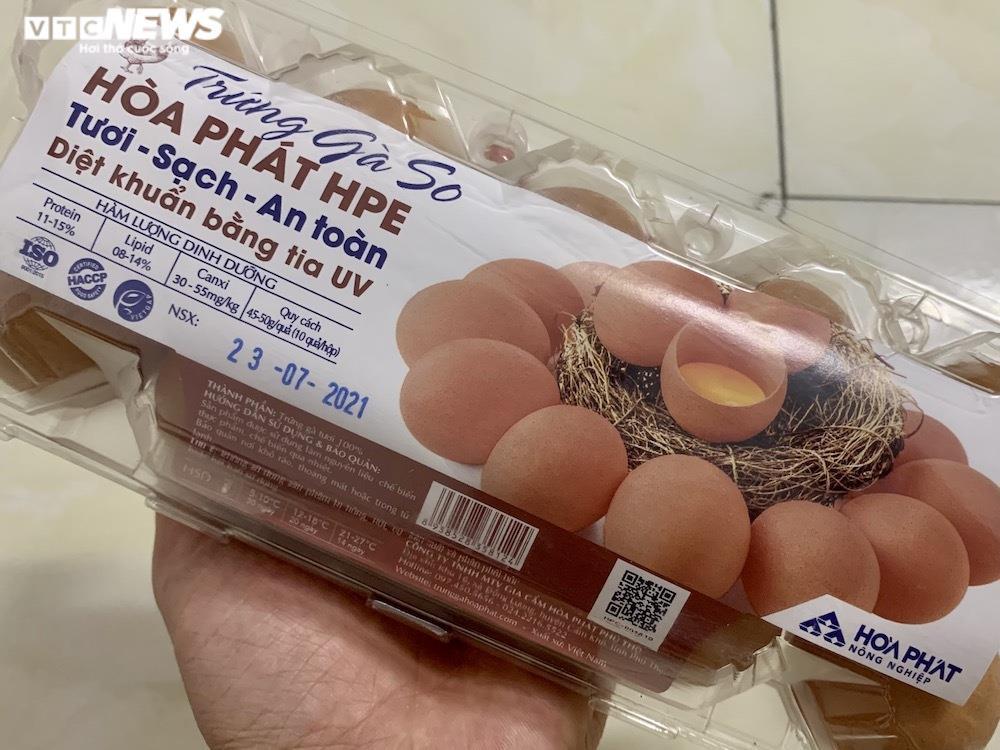 Trứng gà giá tăng cao vẫn đắt khách ở chợ Hà Nội - 3