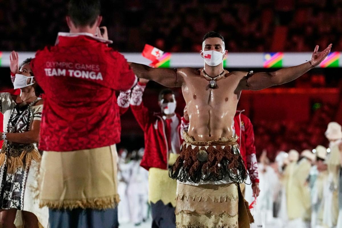 Võ sĩ Taekwondo là 1 trong 6 VĐV của Tonga tham dự Olympic Tokyo.