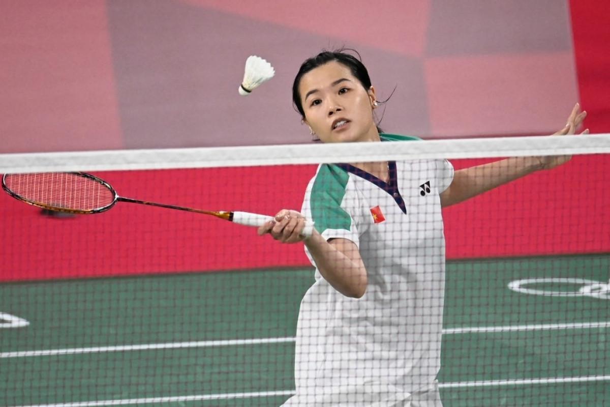 Tay vợt Nguyễn Thùy Linh ra quân thắng lợi. (Ảnh: Getty)
