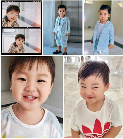 Clip 2 triệu view: Quý tử nhà Hoà Minzy chưa đầy 2 tuổi đã thuộc làu 19 quốc kỳ-4