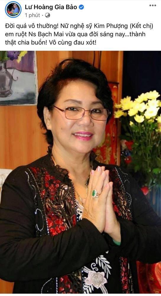 Nghệ sĩ Kim Phượng qua đời vì Covid-19-1
