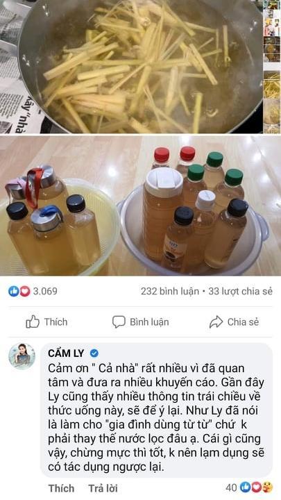 Cẩm Ly khoe thức uống mùa dịch, bị cảnh báo nguy hiểm tính mạng-6
