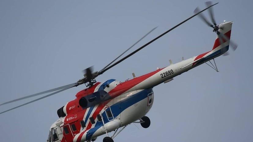 Nga và UAE đã ký hợp đồng cung cấp máy bay trực thăng Mi-171A2, với khả năng mở rộng thỏa thuận lên tới 25 máy bay trong tương lai. (Nguồn: Russiart)