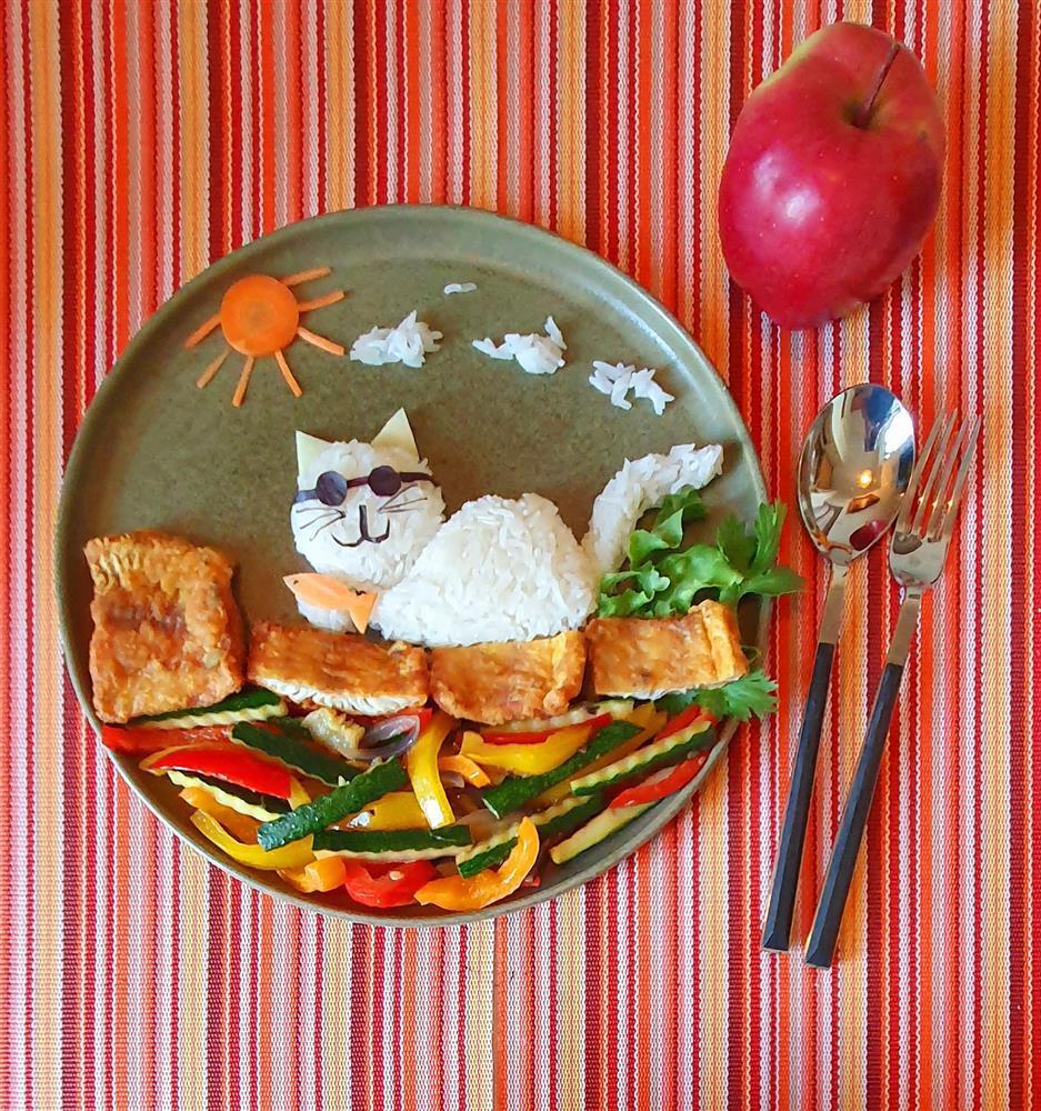 Bày đồ ăn đẹp như tranh vẽ, cho vào miệng rồi lại chẳng nỡ nhai-5
