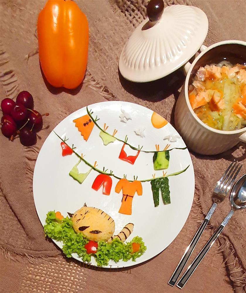 Bày đồ ăn đẹp như tranh vẽ, cho vào miệng rồi lại chẳng nỡ nhai-8