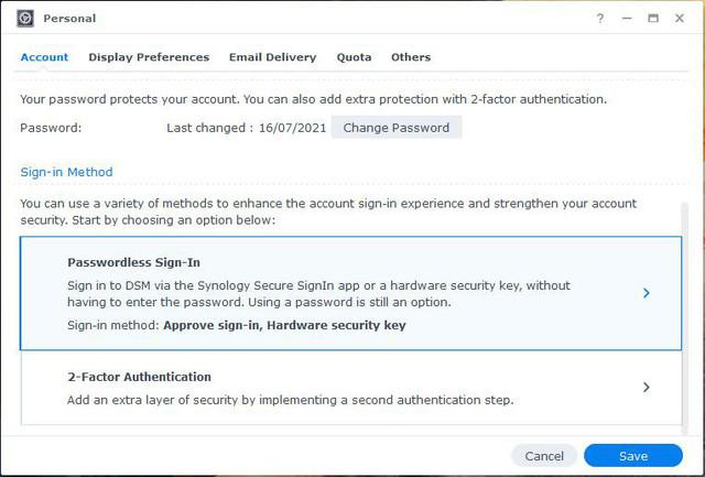 Tối ưu hóa và bảo vệ dữ liệu bằng Secure SignIn khi đăng nhập vào NAS Synology với DSM 7.0 - Ảnh 3.