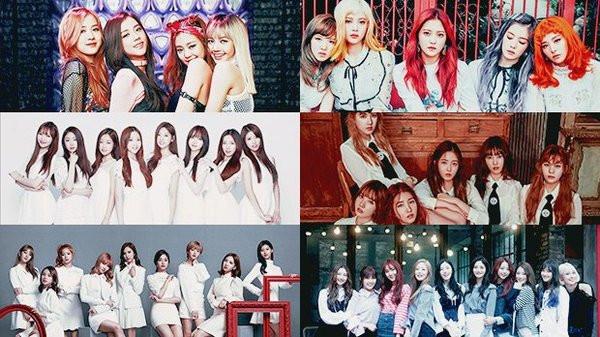 Kết quả hình ảnh cho K-pop girlgroup gen 3