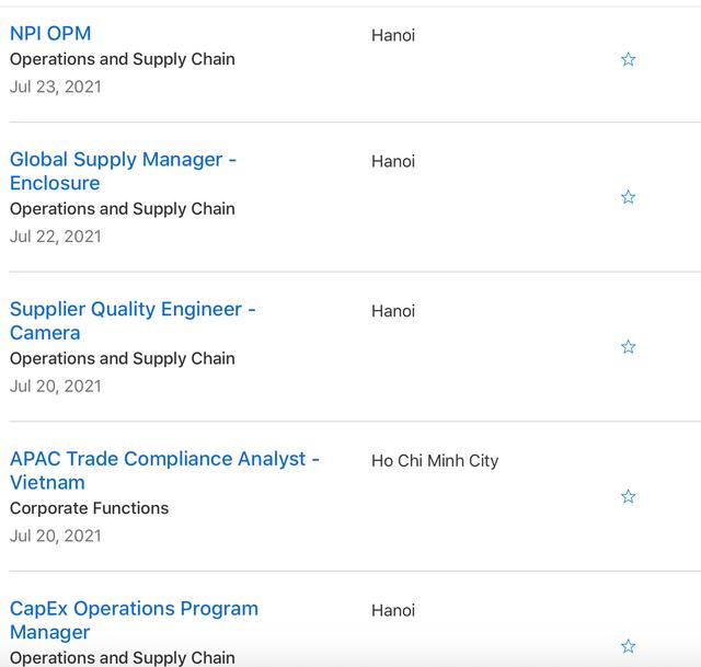 Tuyển dụng hàng loạt vị trí quản lý tại Việt Nam, Apple toan tính điều gì? - Ảnh 2.