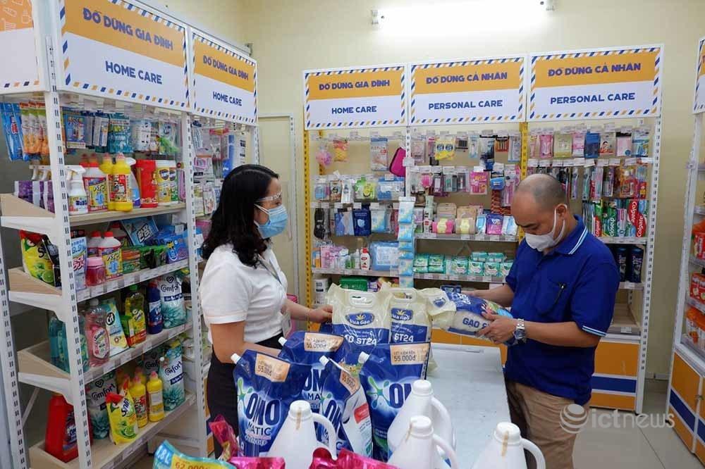 Vietnam Post, Viettel Post cung cấp hơn 1.300 tấn hàng thiết yếu cho người dân các vùng dịch