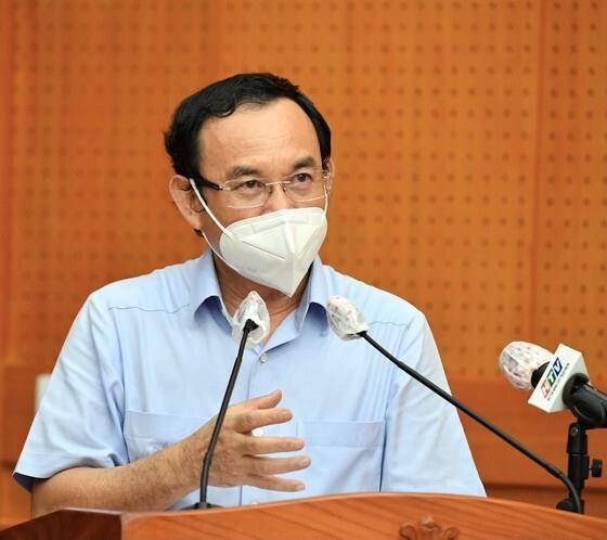 Ông Nguyễn Văn Nên kêu gọi người dân chung sức, đồng lòng sớm vượt qua đại dịch - 1