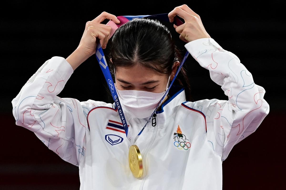Panipak Wongpattanakit là VĐV Đông Nam Á duy nhất có HCV sau 2 ngày thi đấu chính thức của Olympic Tokyo. (Ảnh: Getty).