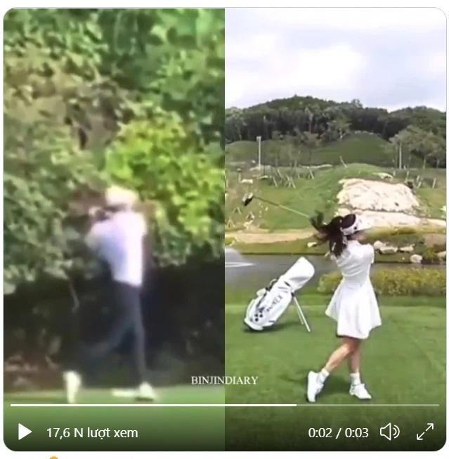 Thời trang chơi golf hack tuổi lại ton-sur-ton của cặp Hyun Bin - Son Ye Jin-10