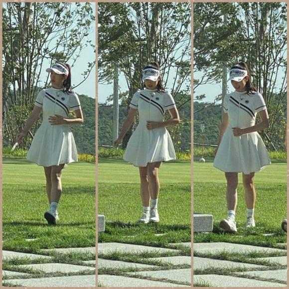 Thời trang chơi golf hack tuổi lại ton-sur-ton của cặp Hyun Bin - Son Ye Jin-6