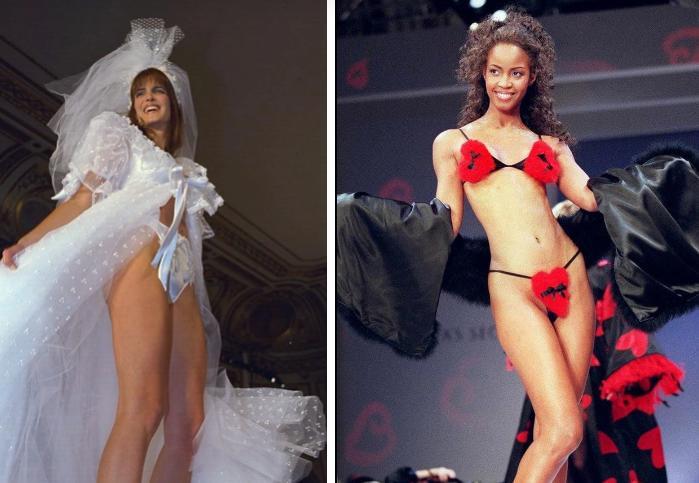 Show Victorias Secret thời đầu: Áo quần từ thập niên 90, dàn mẫu tuyển chọn khắt khe-11