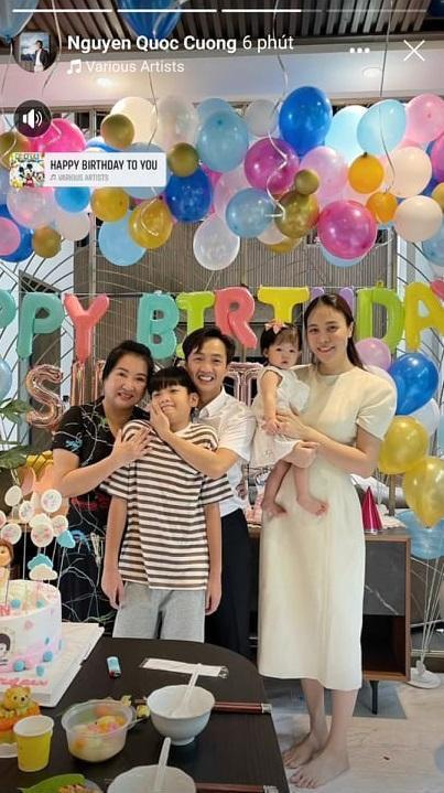 Con gái tròn 1 tuổi, Cường Đô La mới tiết lộ tên thật bé Suchin-1