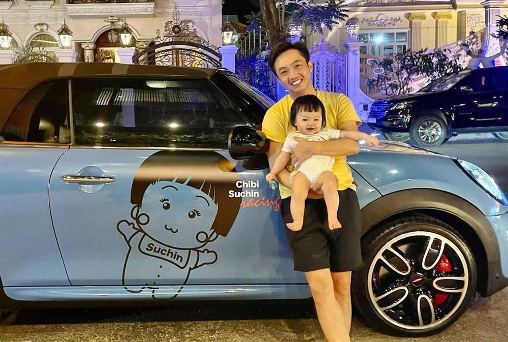 Con gái tròn 1 tuổi, Cường Đô La mới tiết lộ tên thật bé Suchin-6
