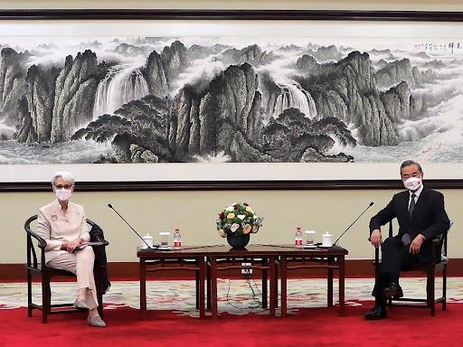 Thứ trưởng Ngoại giao Mỹ thăm Trung Quốc: Đề cập Biển Đông, nguồn gốc Covid-19, Bắc Kinh đưa ra 3 yêu cầu. (Nguồn: Asia News)
