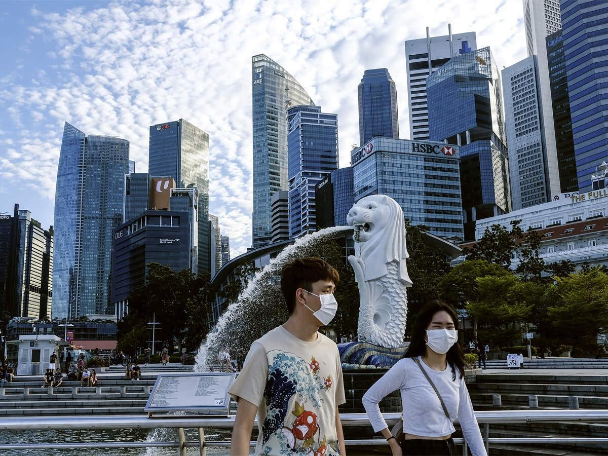 Singapore đang xây dựng chiến lược 'sống chung với Covid-19'. (Nguồn: Economic Times)