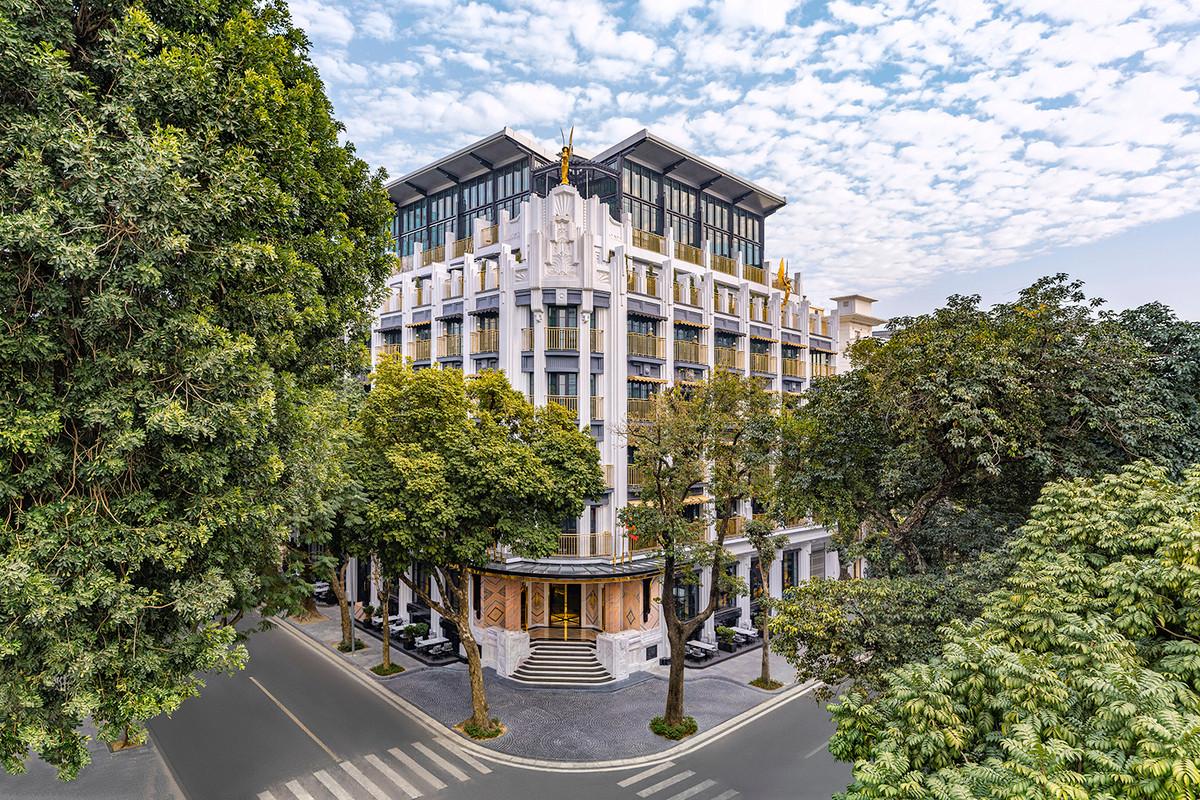 Khách sạn ở Hà Nội của KTS 'phù thuỷ' Bensley lên báo Mỹ - 1