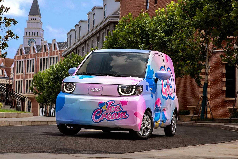 Chery muốn đánh bại mẫu EV rẻ nhất Trung Quốc với QQ Ice Cream