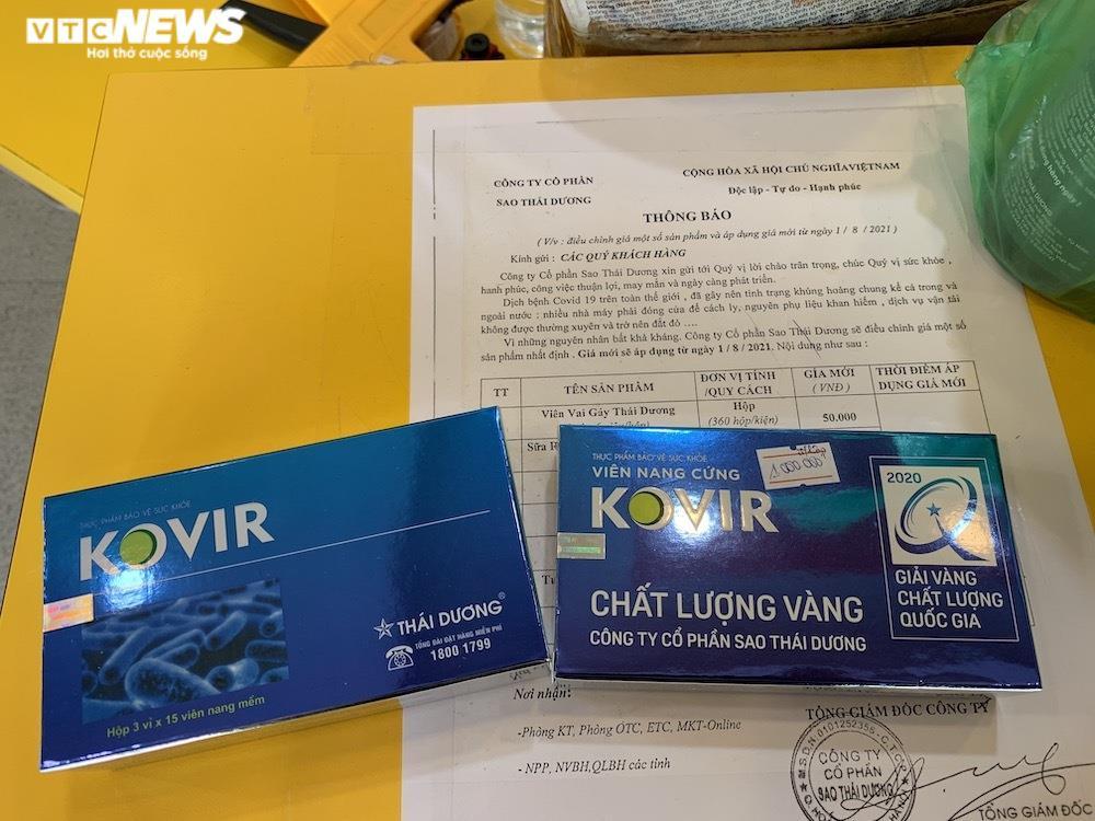 Sau thông tin gây sốt, viên nang Kovir và 11 thuốc cổ truyền tăng giá, khó mua - 3