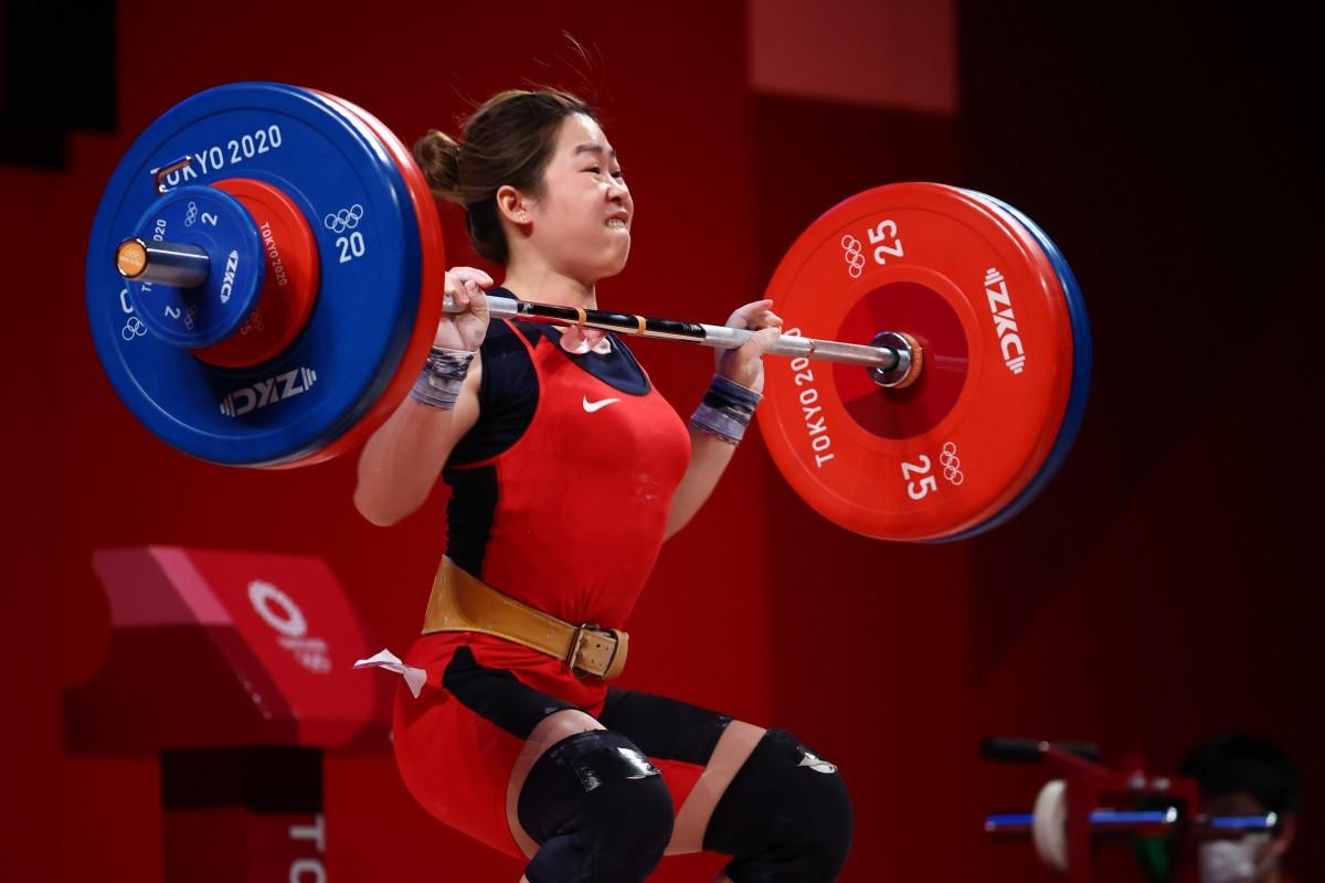Hoàng Thị Duyên lỡ hẹn với tấm huy chương Olympic Tokyo. (Ảnh: Reuters)