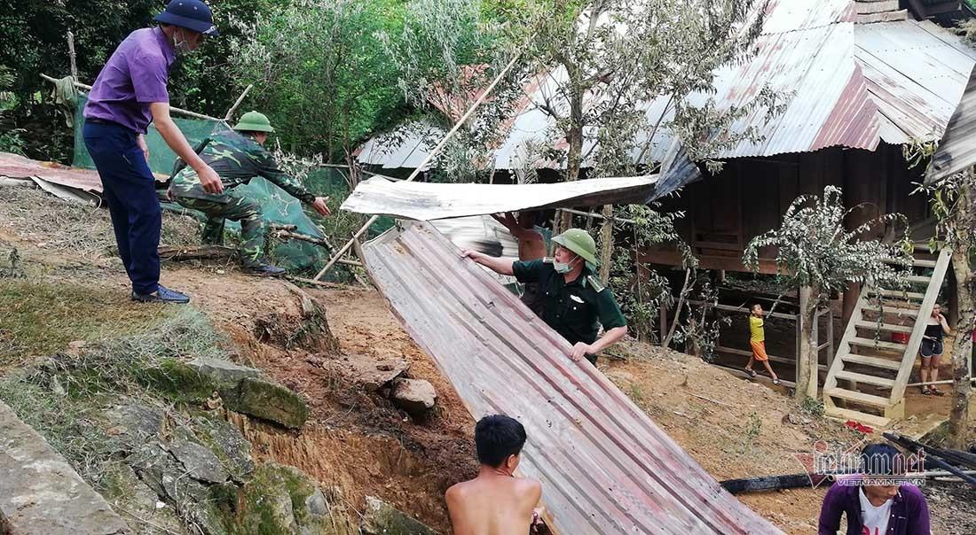 Cháy nhà gỗ hàng trăm triệu đồng ở miền núi Nghệ An