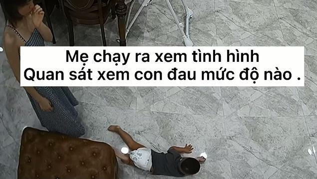 Thót tim nhìn con trai Hòa Minzy ngã ngửa từ trên cao-7